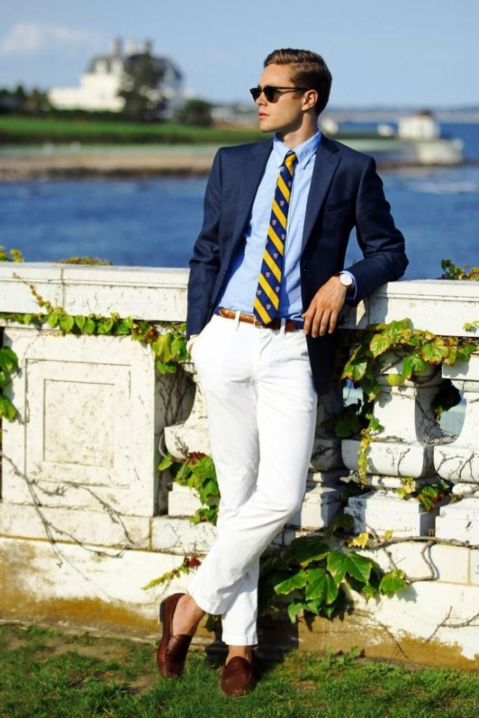16. Preppy Men Fashion Outfits