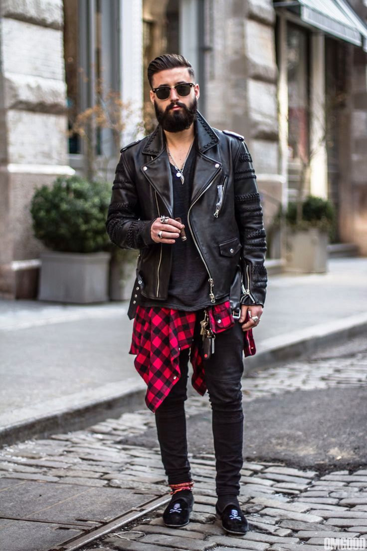 17. Grunge Mens Outfit