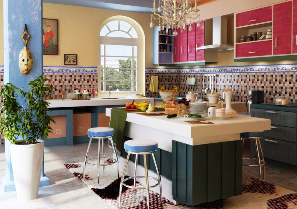 18. Mediterranean Kitchen