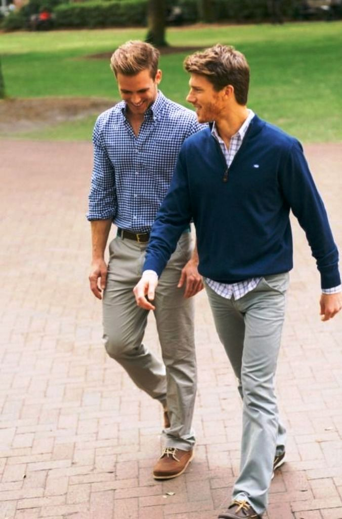 2. Preppy Men Fashion