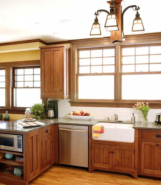 3-Craftsman Kitchen Ideas
