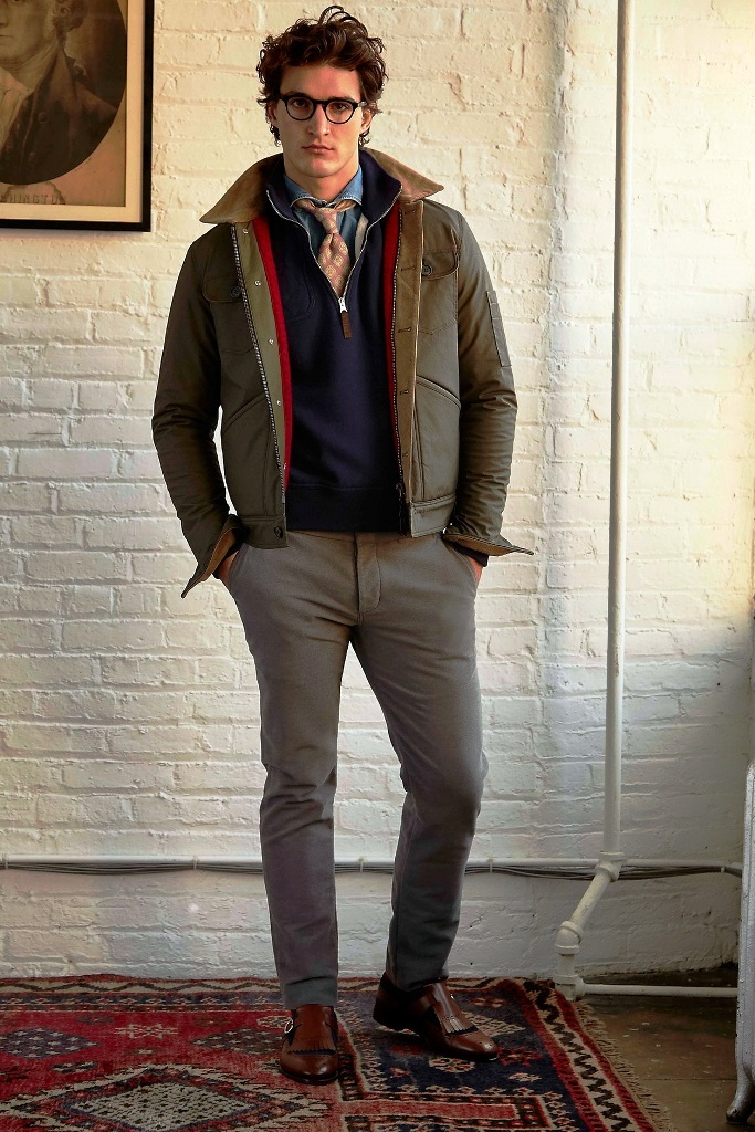 40. Preppy Mens Outfit