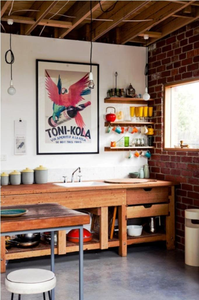 5. Eclectic Kitchen Design