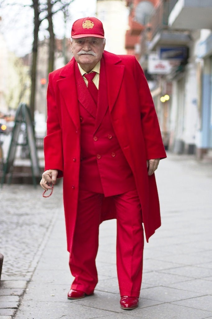 7. Old Men Fashion