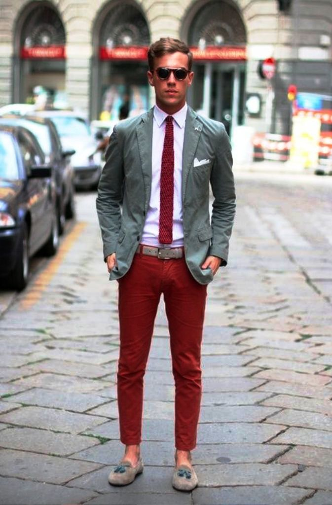 8. Preppy Men Fashion