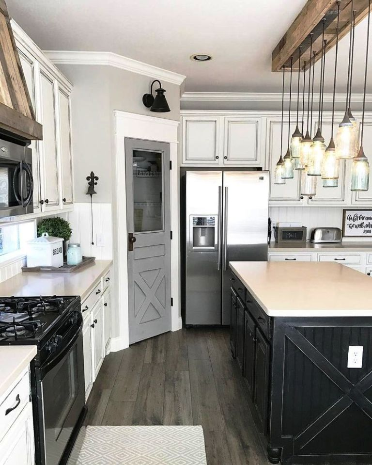 5. Farmhouse Kitchen Ideas