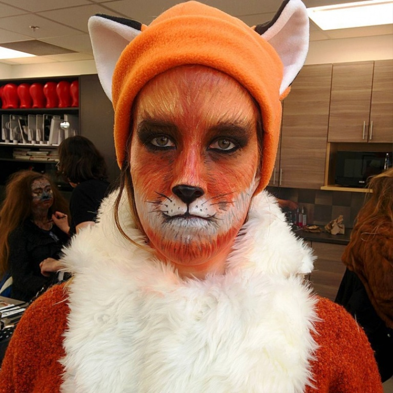 15. Fox Halloween Makeup Ideas