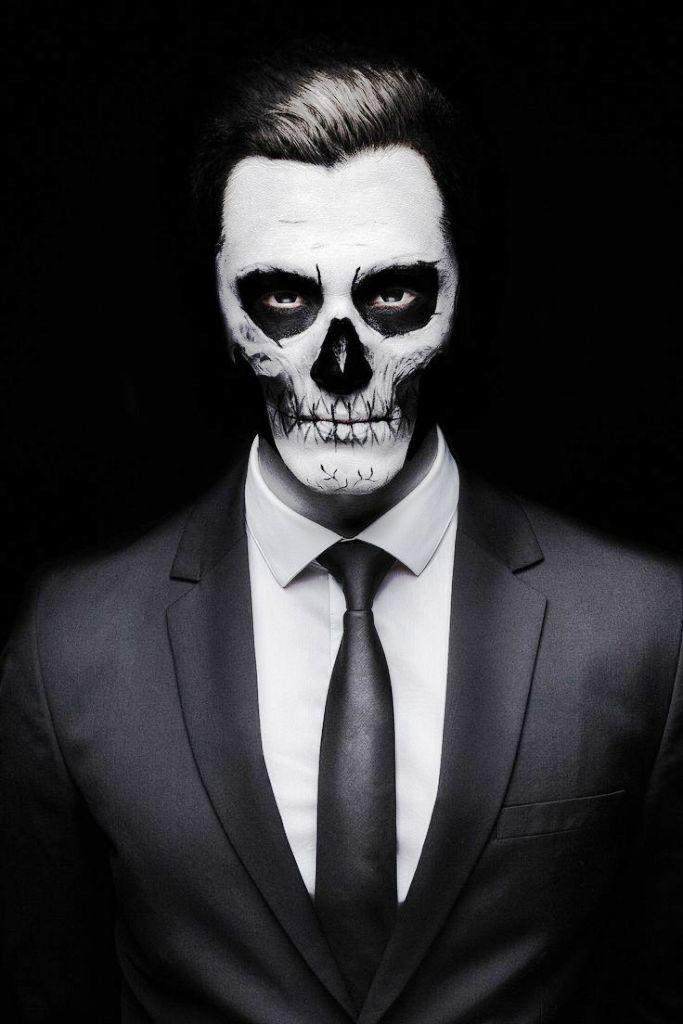 20. Skeleton Makeup Ideas
