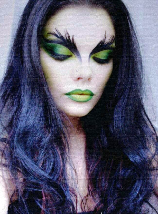 11-Halloween Witch Makeup Ideas