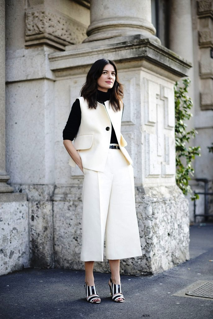 24-Culottes Outfit For Women