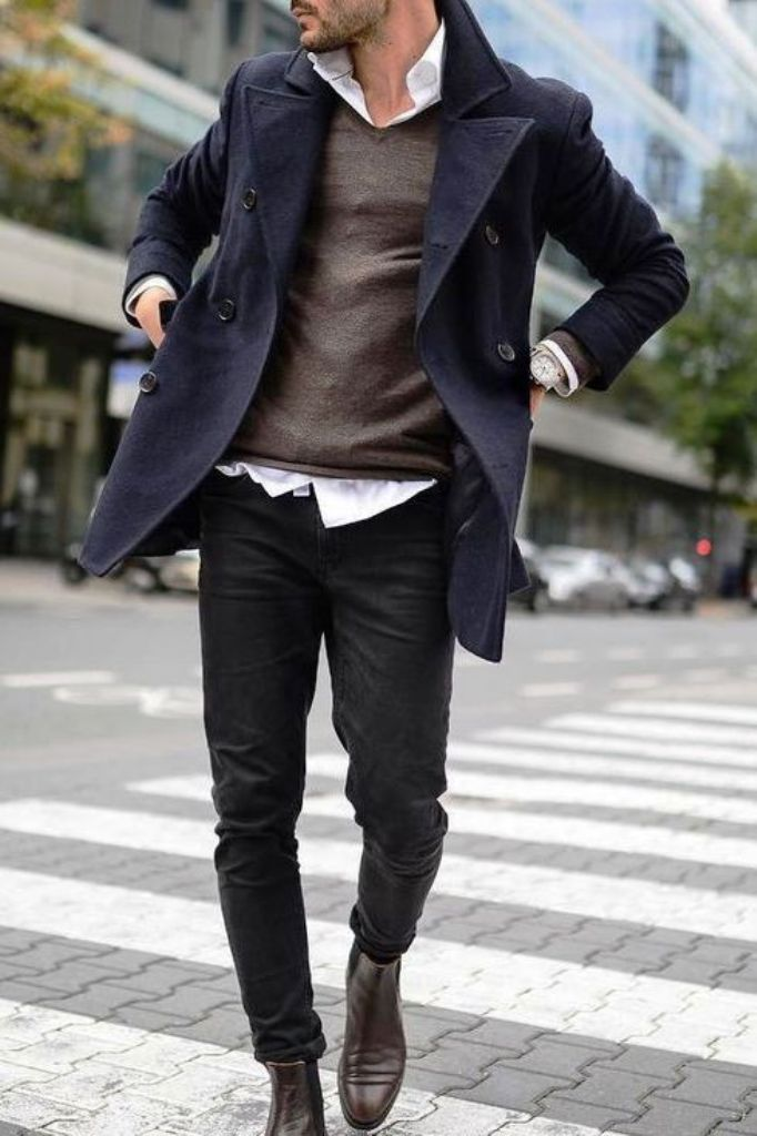 15-Overcoat Outfit Ideas For Man