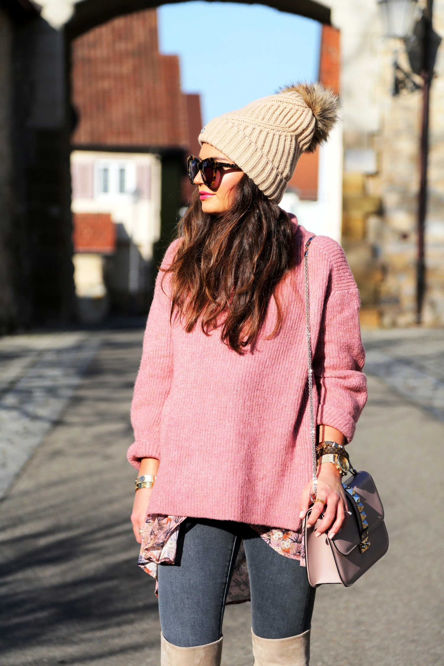 Classy Boho Winter Outfits (2)