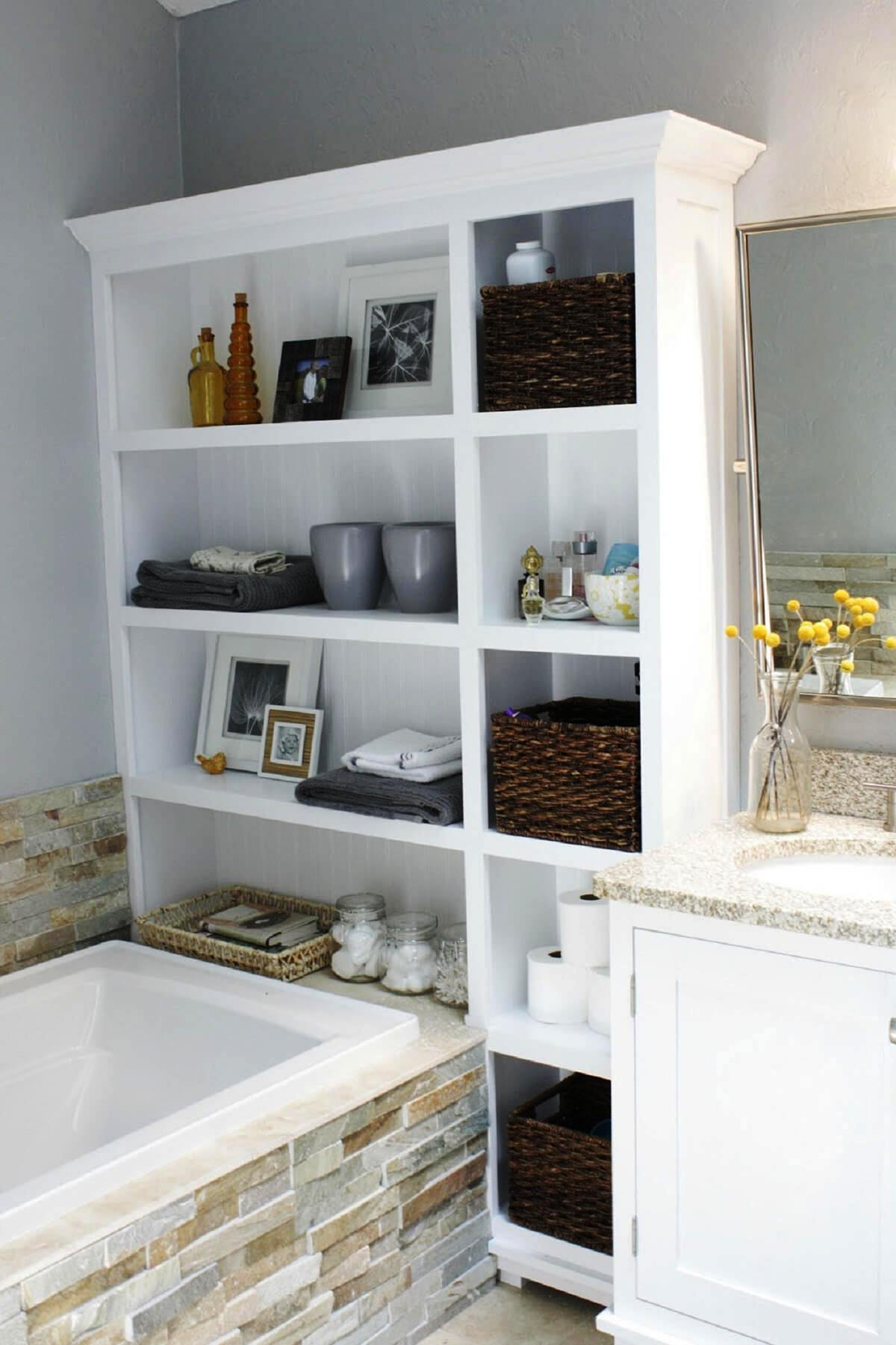 Small Spaces Storage Ideas For Bathrooms (1)