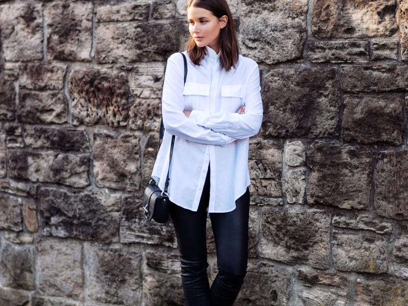 25 Stunning Leather Pants Outfits For Women To Try