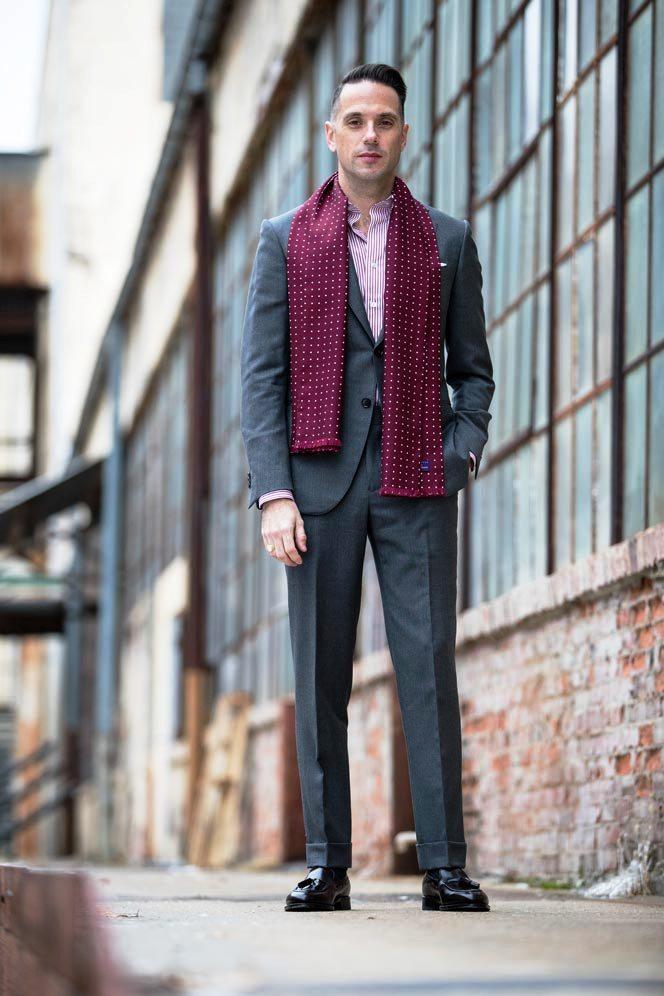 24-Men's Suits Combination Ideas