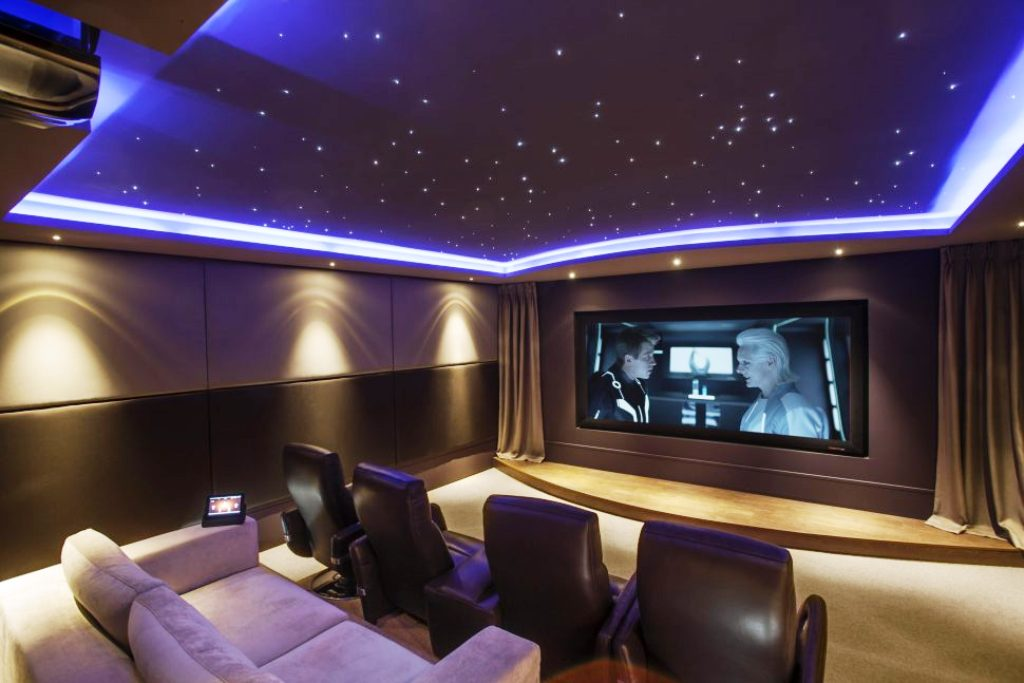 12. Home Theater Designs