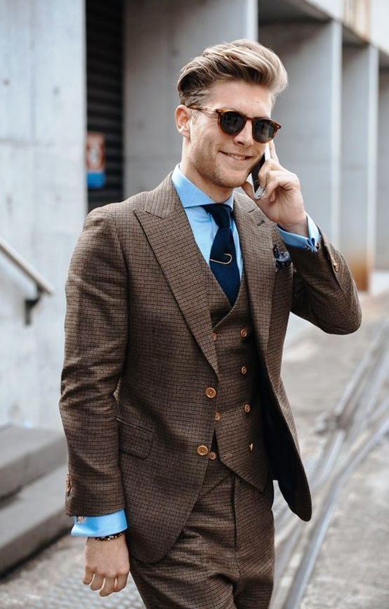 3-Double Breasted Suit Ideas