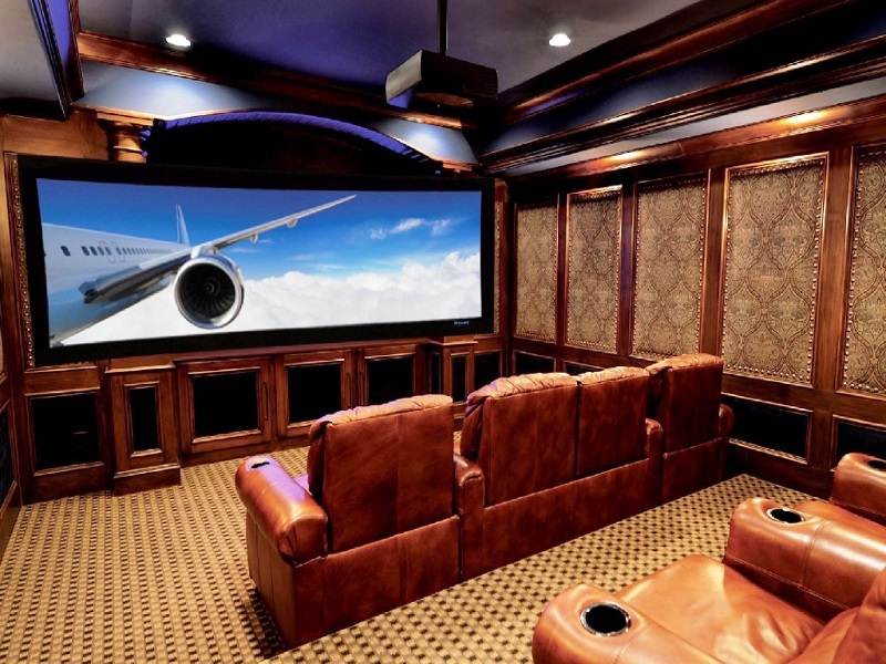 9. Home Theater Design Ideas