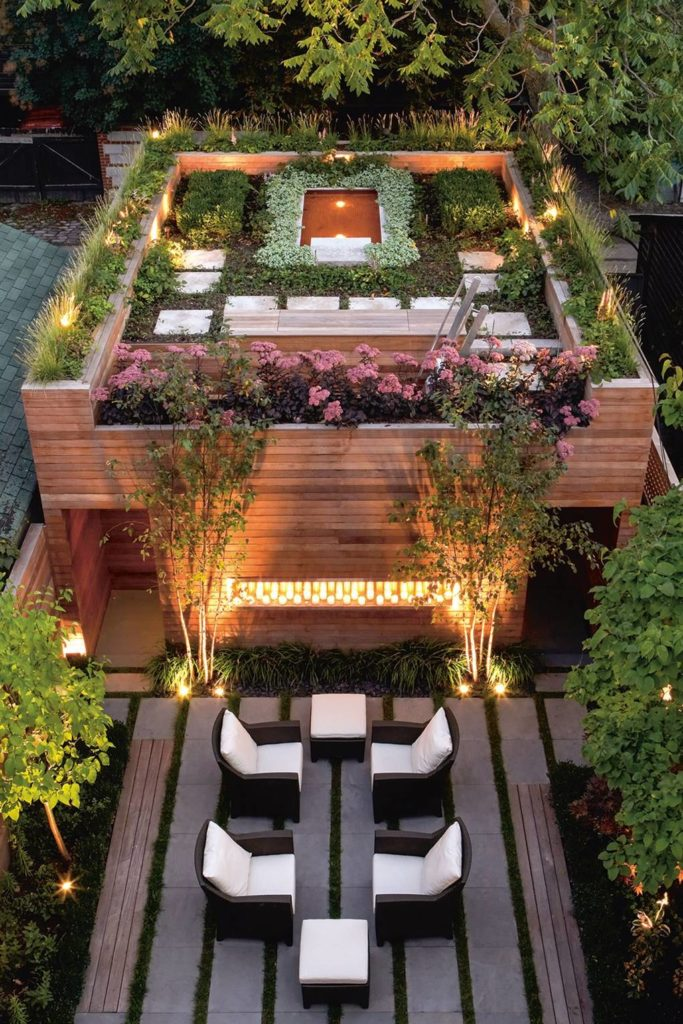 Decoration Roof Garden Ideas