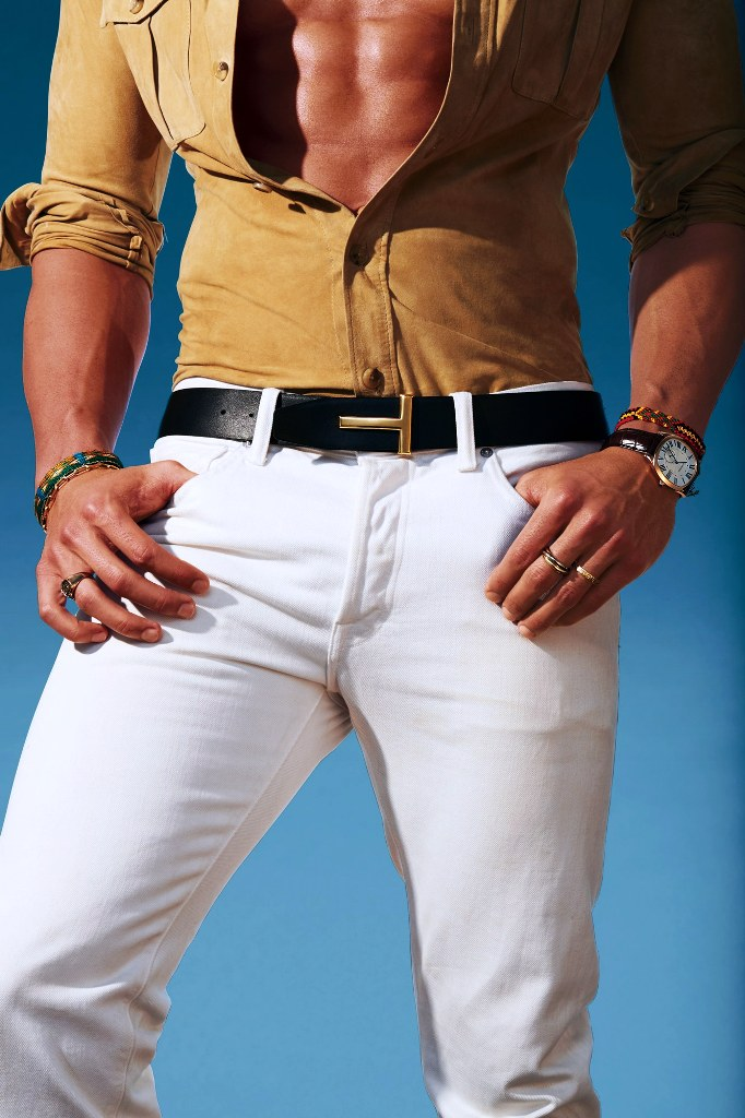 White Designer Men Jeans Ideas