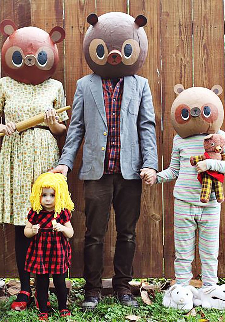 Family Mascot Outfit Ideas