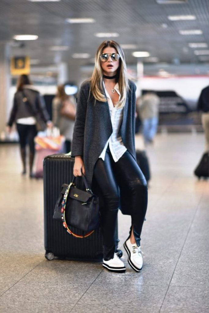 Summer Legging Outfits For Traveling