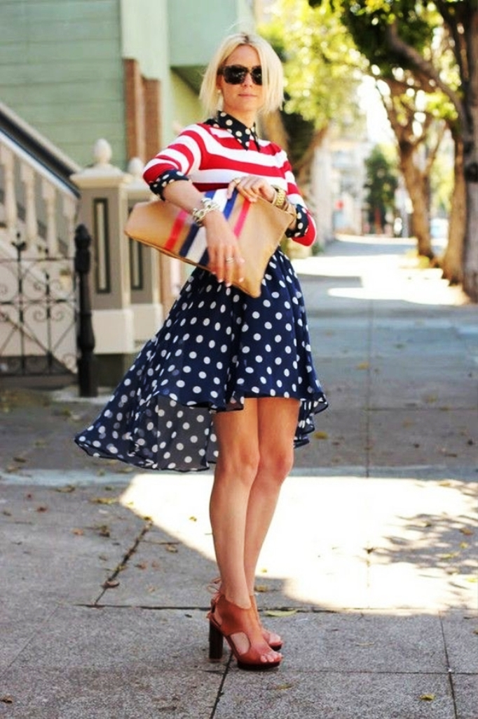 Classy 4th Of July Outfit